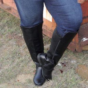 Lane Bryant Riding boots size 10W